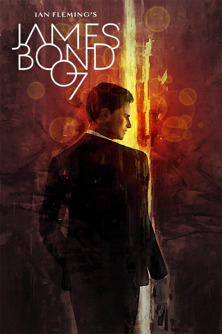 Dynamite 007 Cover MockupV20 by DanielMurrayART