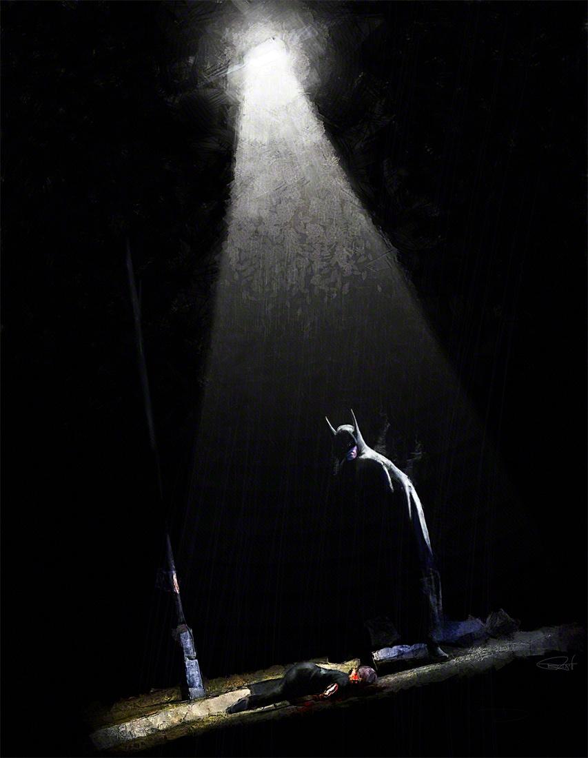 The Batman -  Too late by DanielMurrayART