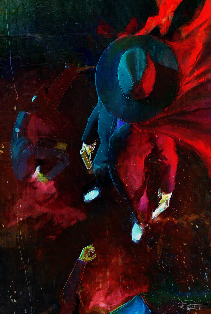 Weed Of Crime by DanielMurrayART
