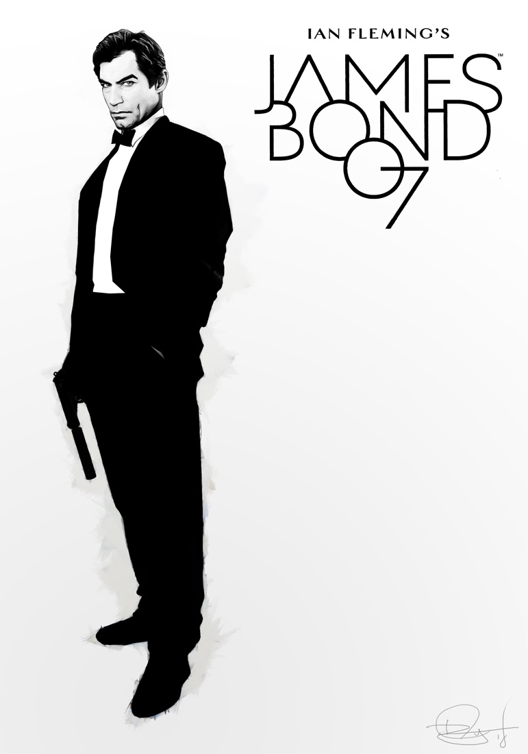 Dynamite 007 Cover MockupV27 by DanielMurrayART