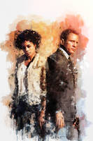 007 - Moneypenny by DanielMurrayART