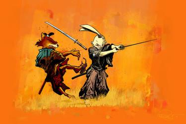 Usagi Yojimbo by DanielMurrayART
