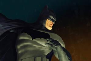 The Batman by DanielMurrayART