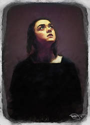 Arya Stark by DanielMurrayART