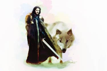 King of the North by DanielMurrayART