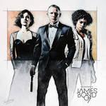 007 - Skyfall by DanielMurrayART