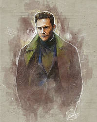 Tom Hiddleston Painting project