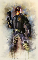 Karl Urban - Judge Dredd
