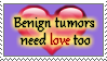Benign Tumors stamp by Amenrenet