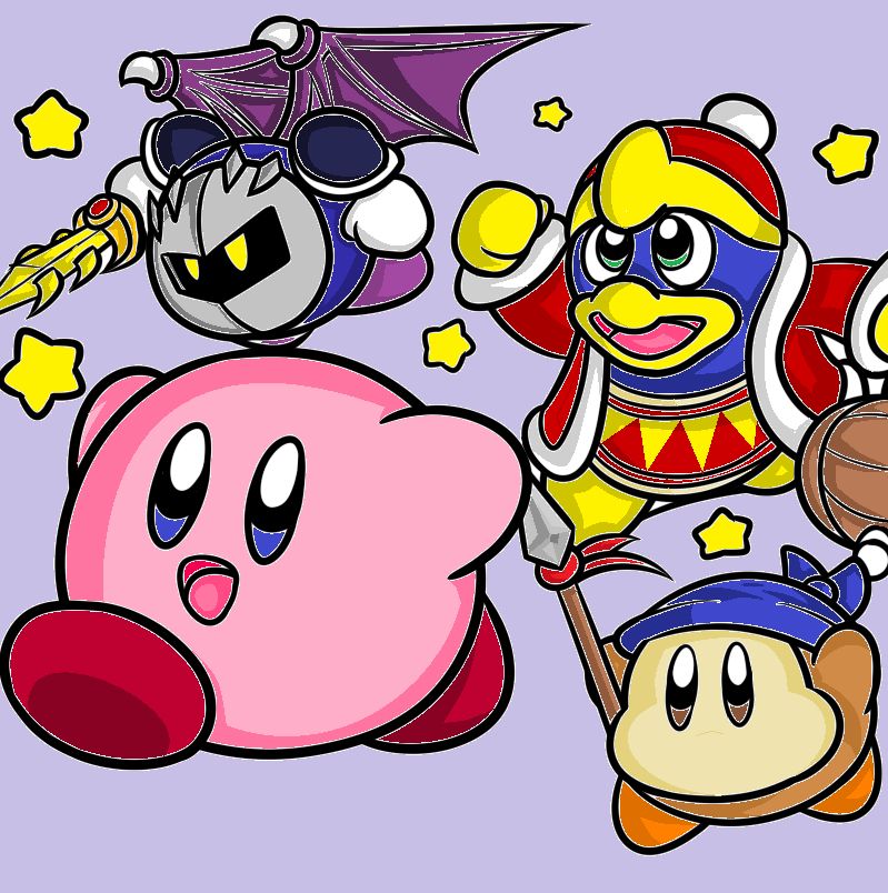Kirby's Return to Dreamland Characters by Midnight3795 on ...