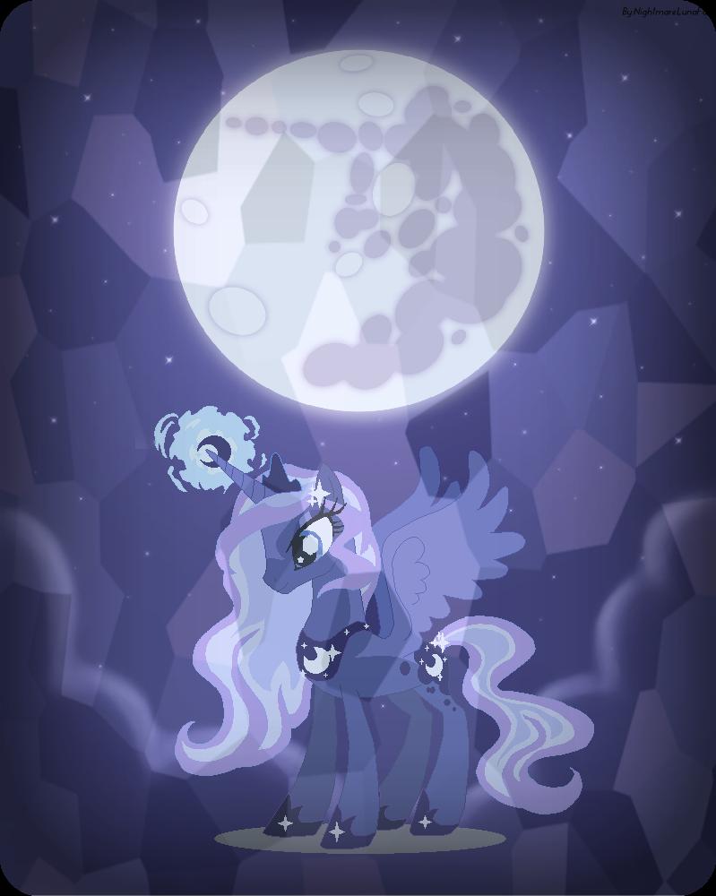my little pony nightmare moon wallpaper