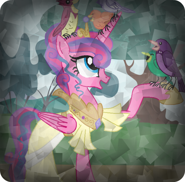 Princess Cadence's Mom in the Crystal Forest by ...