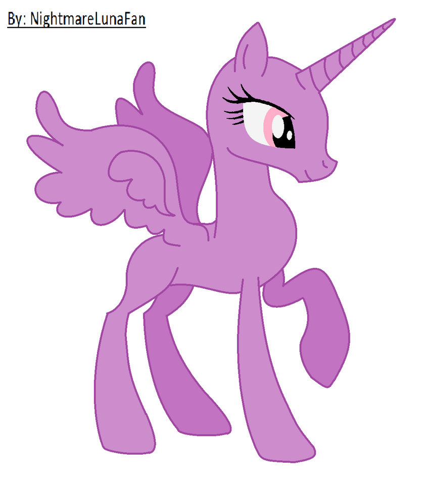 Mlp Alicorn Base Pictures To Pin On Pinterest Pinsdaddy