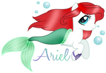 Ariel The Little Merpony by NightmareLunaFan