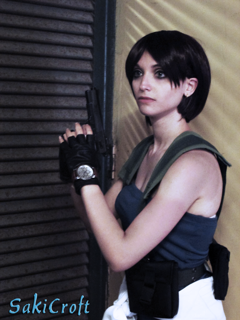 resident evil 3 nemesis jill valentine cosplay by