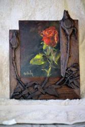 Walnut Frame by knotcarver