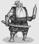 Dwarfish Warbaker (unknown gender) Speedpaint