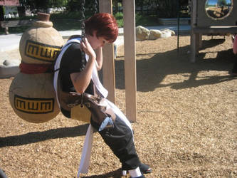Look a Like Contest-Gaara by Ryoko-and-Yami