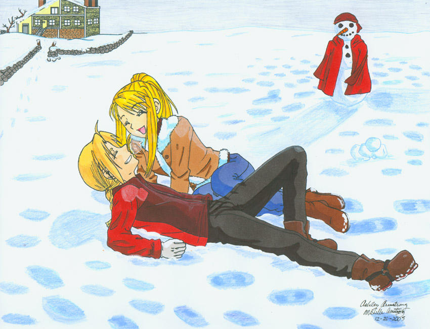 FMA: Winter Wonderland by Ryoko-and-Yami