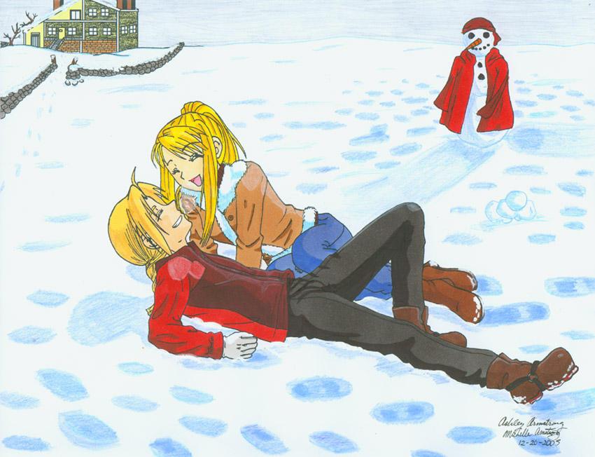 FMA: Winter Wonderland by Ryoko-and-Yami
