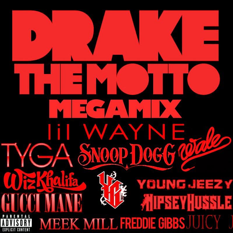 Drake The Motto Y O L O Megamix Album Cover By Zerjer97