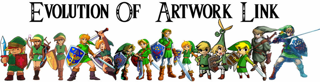 Evolution Of Link Artwork