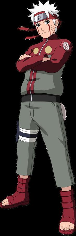 Jiraiya Color Scheme Naruto