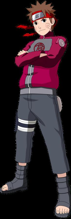 Choji Akimichi Color Scheme Naruto