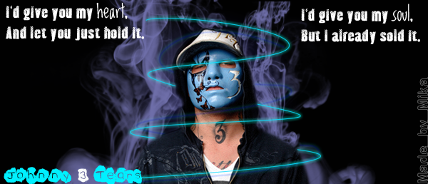 Johnny 3 Tears banner- circles by mad4medusa89