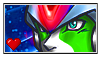 Stamp Megaman X Fusion by mochy-chan