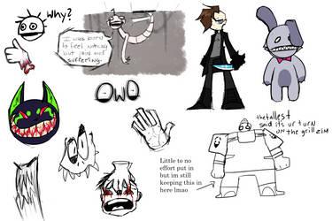 Yim yum doodles by GhostTowne
