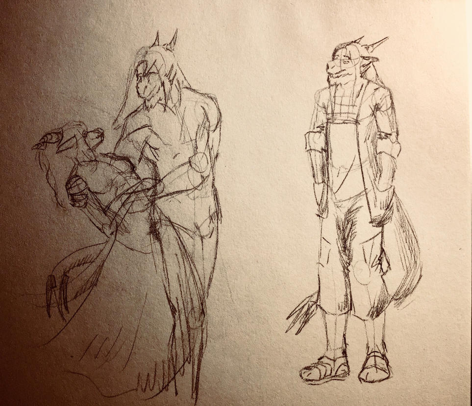 More. More of sketches! by Maltaid