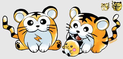 Kotora/Tigrette (Beta Pokemon) by Gooompy