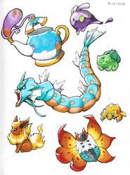 Assorted Pokemon