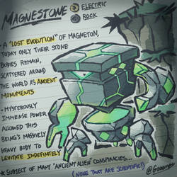 Magnestone