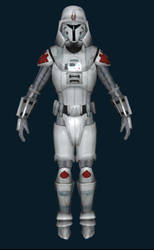 Stronghold Imperial Soldier White