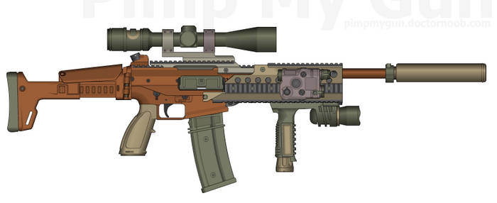 Scariff DRW Sniper Rifle