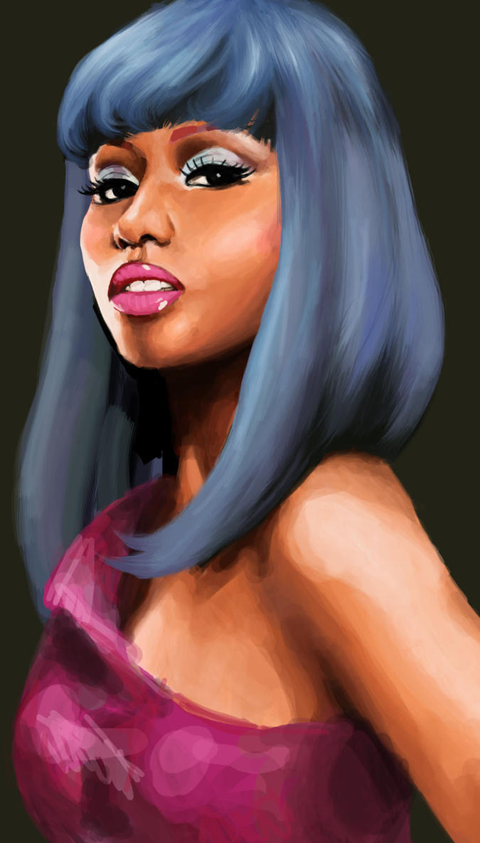 Nicki Minaj by Freed-Wings