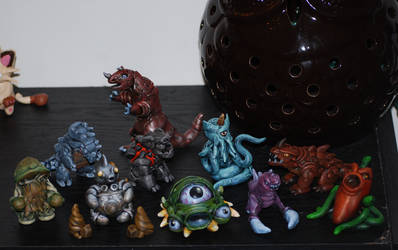 Kaiju Collective by high-five-bro