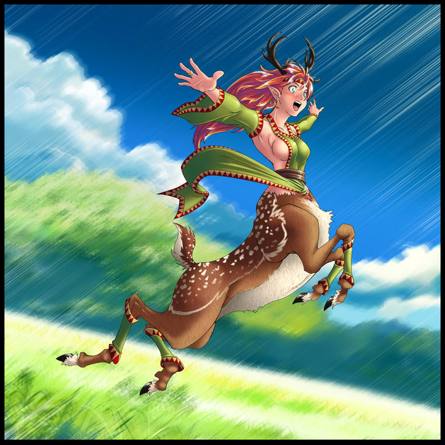 Deer-Taur by gamera1985