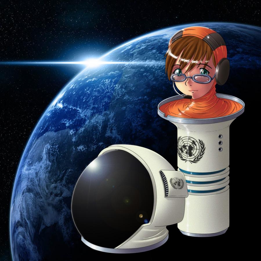Maria : Cyborg Cosmonaut by gamera1985