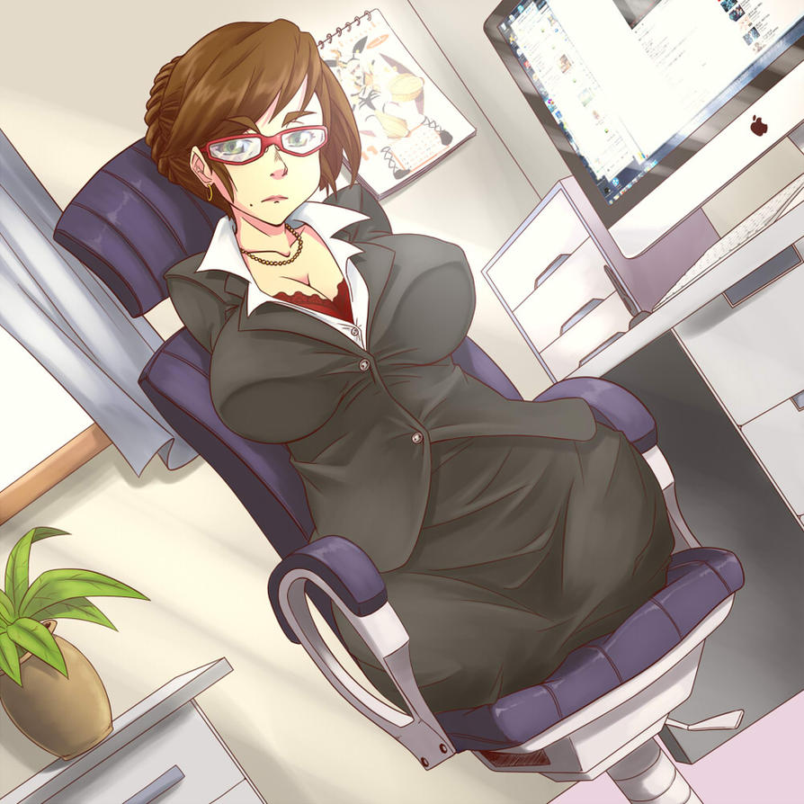 In The Office by gamera1985