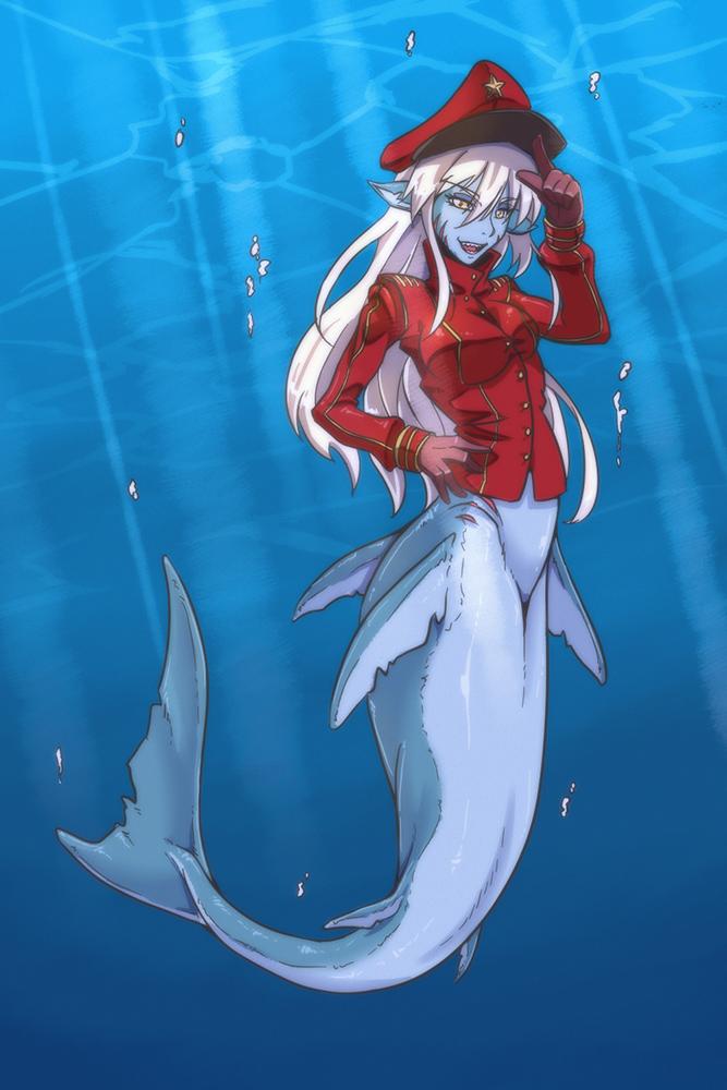 Shark Mermaid by gamera1985