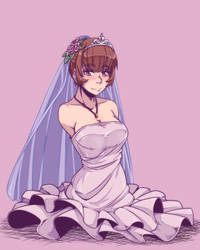 Lucile Wedding by gamera1985