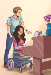 Piano couple