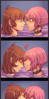 Kissing Heads