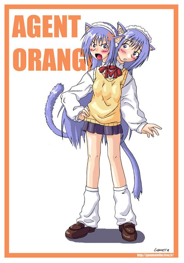 Agent Orange Gift by gamera1985