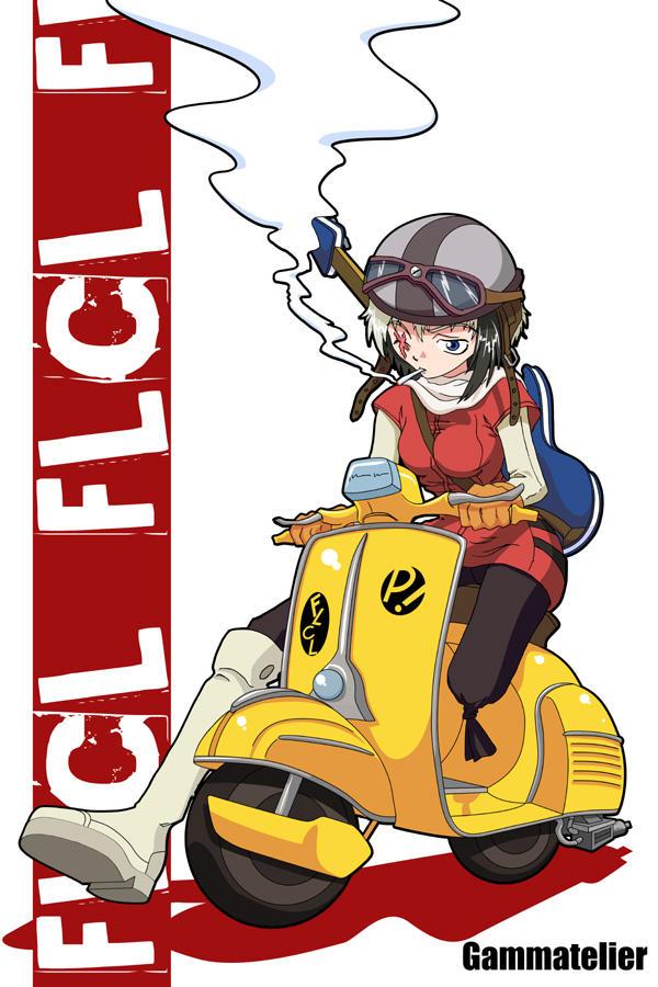 Bikko FLCL Version by gamera1985