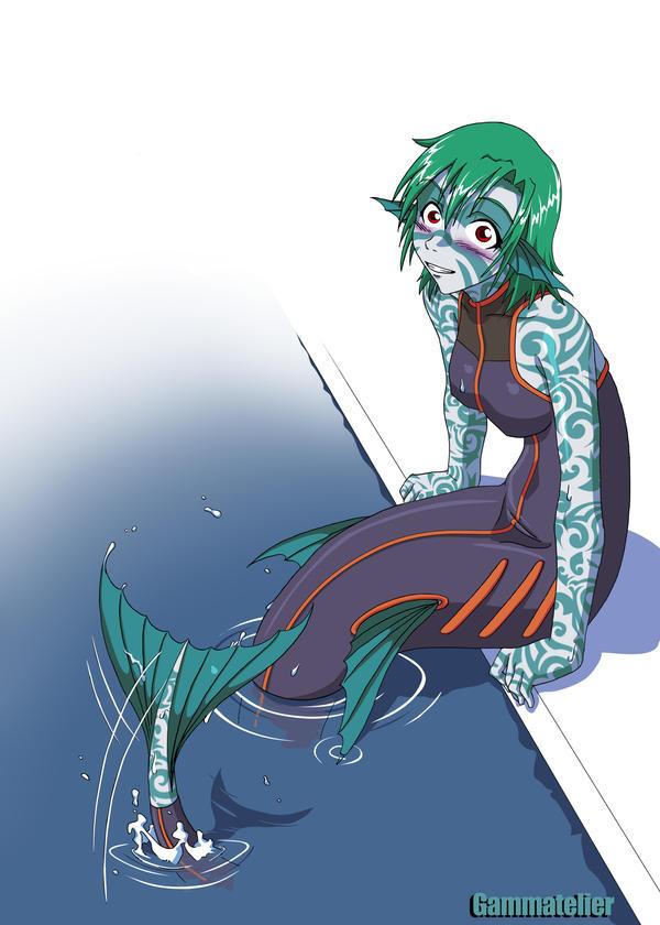 Mermaid by gamera1985