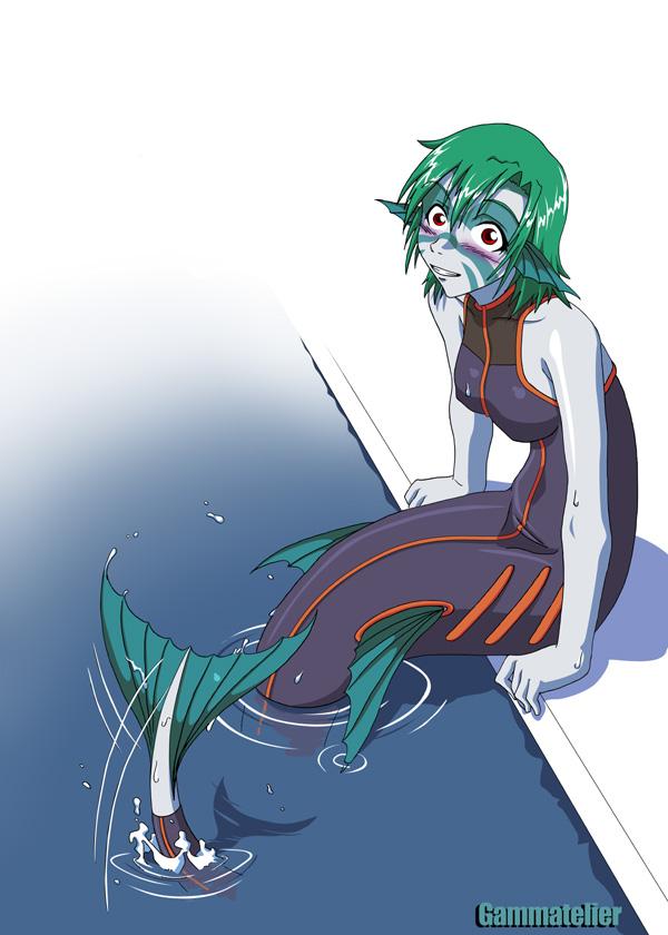 Mermaid bis by gamera1985